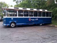 Advertise on the interior or the exterior of the Circulator!