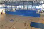 Basketball Courts with Fabric Partitions